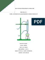 Sintesis Dan Karakterisasi Natrium Tiosulfat