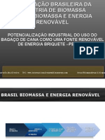 Especial Brasil Biomassa Briquete Pellets bagaço de cana