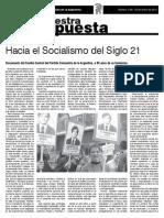 Hacia El Socialismo Del Siglo XXI