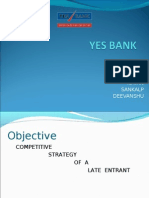 YES BANK  strategy