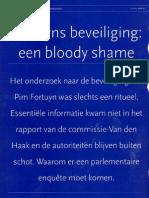 Fortuyns Beveiling Bloody Shame