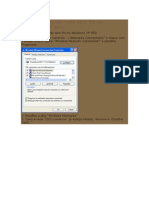 Configuração Da Rede Sem Fio No Windows XP SP2