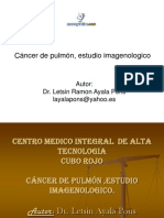 Cancer Pulmon Estudio Imagenologico