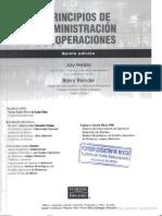 Administracion de Operaciones, Principios -Jay Heyzer y Barry Render