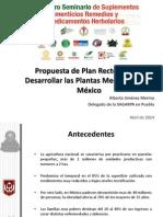 Propuesta Plan Rector Plantas Medicinales Mexico 2014