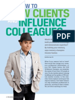 How to WOW CLIENTS and INFLUENCE COLLEAGUES