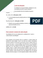 Texto Orientativo_Diluição Em Série
