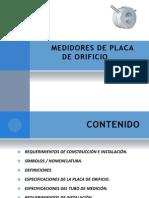 Medidores Placa Deorificio