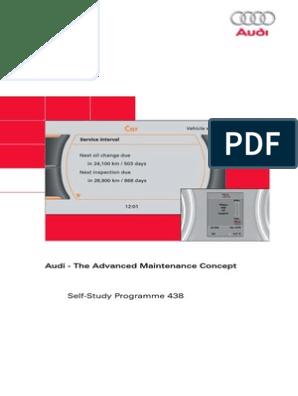 Audi SSP 438 Audi Service Reset MMI | Audi | Motor Oil