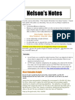 nelsons notes - february 7