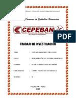 Sistema Financiero en El Perú 2014 de Fer
