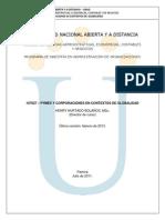 Modulo Pymes y Corporaciones en Contextos de Globalidad Documento Final