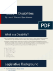 student disabilities