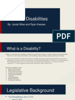 student disabilities