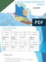 Zonas Geoeconomicas de México