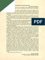P. Dávila (Las Huellas de Un Pescador. Comunicado de La Secretaria Del Estado Del Vaticano)