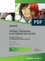 Anais Forum Acafe