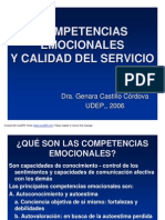 Competencias Emocionales y Calidad Del Servicio