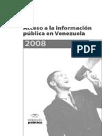 Acceso a La Información Pública en Venezuela