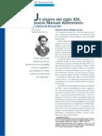 Un Viajero Del Siglo Xix - Ignacio Manuel Altamirano - Las Crónicas de Ferrocarriles