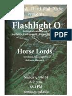Flashlight o Third Rail Flyer