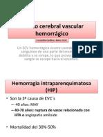Evento Cerebral Vascular Hemorrágico