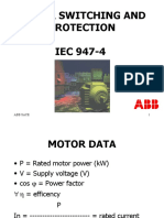 Motor Switching and Protection