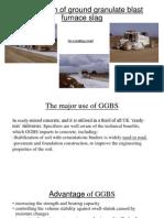 Application of Ground Granulate Blast Furnace Slag 1