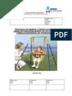 Protocolo de Ingreso a Terapia Ocupacional de Unidad de Psiquiatría Infantil de Cdt Dr