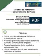 Lesiones de Hombro en Levantamiento de Pesas-WilliamMicheo