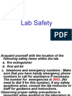 Safety Summary