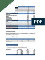 Calculating NPV Fix