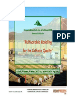 Multivariable Modelling for the Cathodic Quality