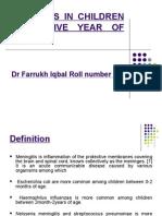 Meningitis Dr Farrukh