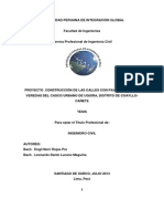 proyectoconstruccindelascallesconpavimentacinyveredasdelcascourbanodeuquiradistritodecoayllo-140110145653-phpapp01