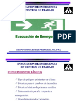 Capacitacion Brigada de Evacuación