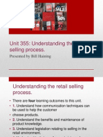 355 Retail Selling Process