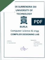 Compiler Design Lab
