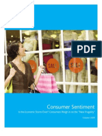 Nielsen US Consumer Sentiment Oct 2009 Report