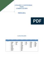 Capacidades y Contenidos Computacion Para Primaria Por Unidades