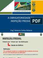 A Obrigatoriedade Da Inspeção Predial Antonio Carlos Dalocio