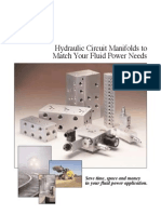 Flow Control Manifolds