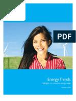 Nielsen US Energy Trends Report Oct 2009