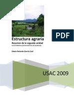 Estructura Agraria en Guatemala, Usac 15 PAG