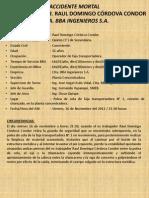 BBA Ingenieros SA - Accidente Mortal en Faja %282012.11.16%29