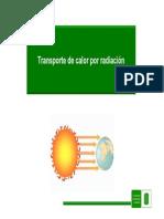 radiación térmica