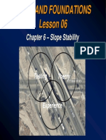 Lesson 06-Chapter 6 Slope Stability