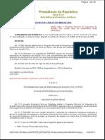 PNAVSEC - DECRETO 7168