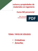 Solidos Cristalinos y Amorfos-Introduccion (1)