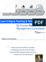 Lean 6 Sigma Essentials in Powerpoint